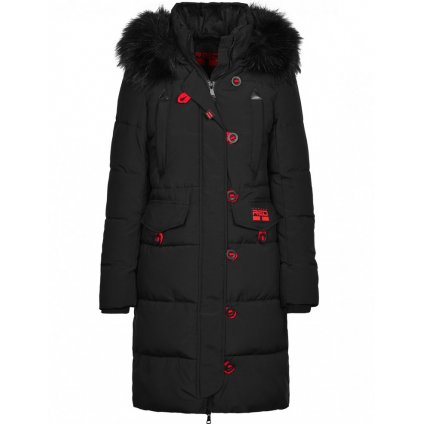 Bunda DOUBLE RED AVALANCHE Parka Black