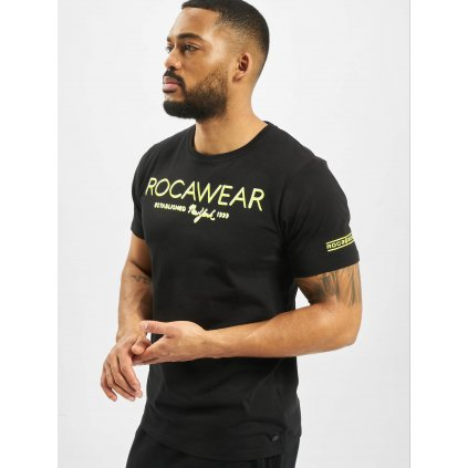 Tričko  Rocawear / T-Shirt Neon in black