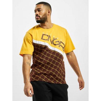 Dangerous DNGRS / T-Shirt Woody in brown