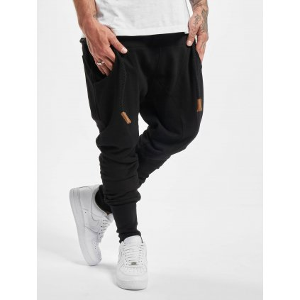Pánske tepláky  DEF / Sweat Pant Thick Drawstring in black
