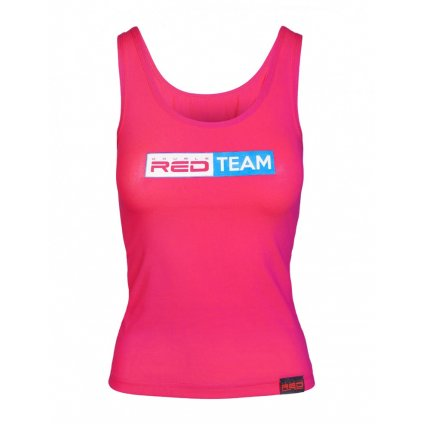 DOUBLE RED  RED TEAM Tank Top Pink