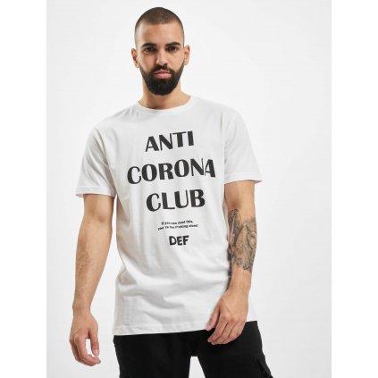 DEF / T-Shirt Anti Corona in white