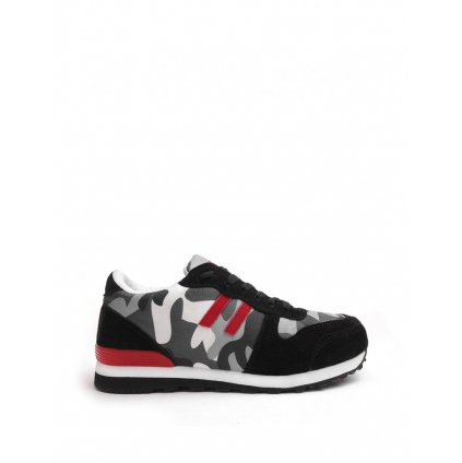 DOUBLE RED B&W sneakers