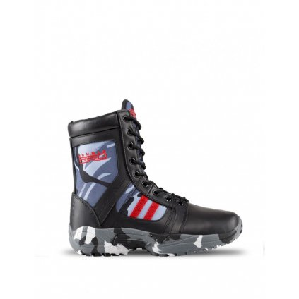 DOUBLE RED  Boots Black Camo Red Desert
