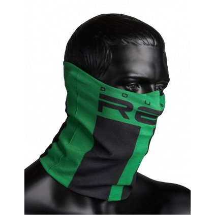DOUBLE RED  RED SQUAD Snood Green