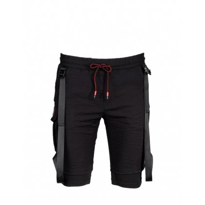 DOUBLE RED  Bushido Shorts Black