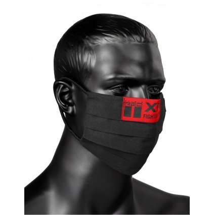 DOUBLE RED  MASK XFN Black