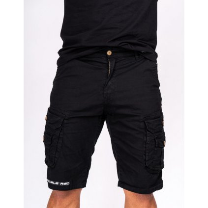 DOUBLE RED  Tactical Short Black