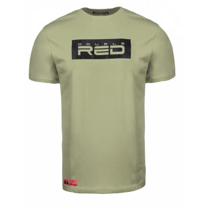 Tričko  DOUBLE RED  T-shirt CARBON Edition Green