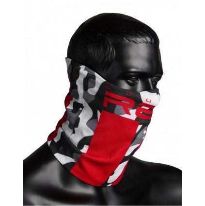 DOUBLE RED  RED SQUAD Snood BW Camo