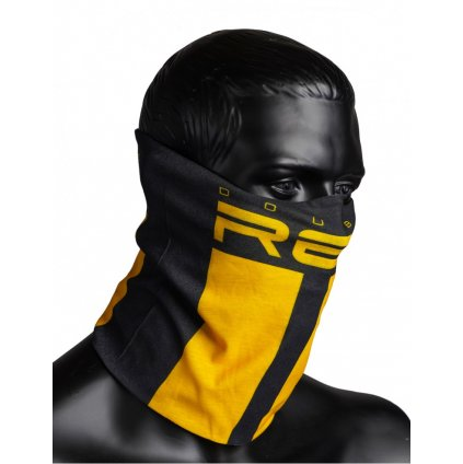 DOUBLE RED  RED SQUAD Snood Black&Yellow
