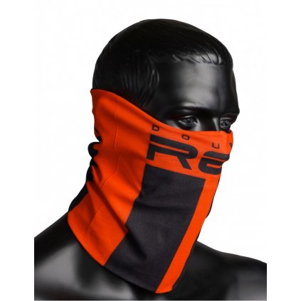 DOUBLE RED  RED SQUAD Snood Orange