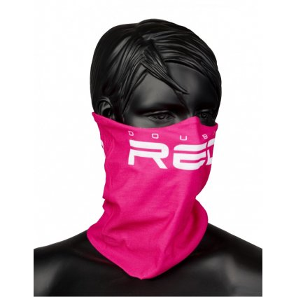 DOUBLE RED  RED SQUAD Snood Pink