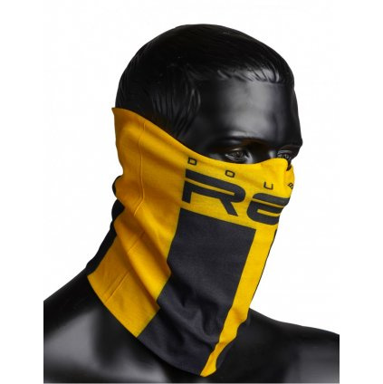DOUBLE RED  RED SQUAD Snood Yellow