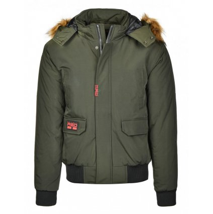 Bunda  DOUBLE RED  STREET HERO Jacket Winter Edition Olive