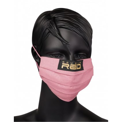 DOUBLE RED  MASK Queen Pink