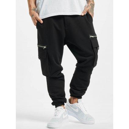 Pánske tepláky  2Y / Sweat Pant Linus in black
