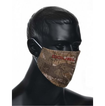 DOUBLE RED  MASK Jungle Red Logo