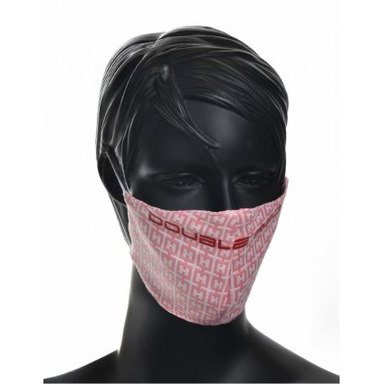 DOUBLE RED  MASK Elegance Pink/Red