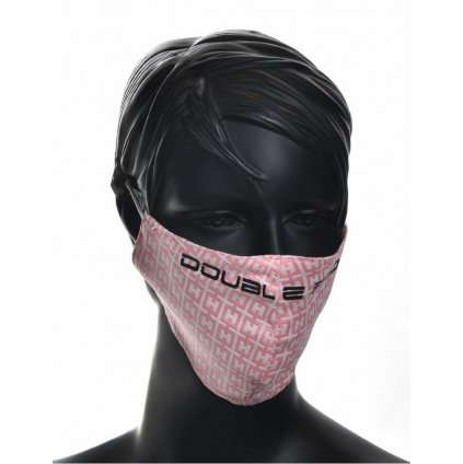 DOUBLE RED  MASK Elegance Pink/Black