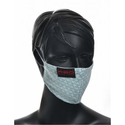 DOUBLE RED  MASK Elegance Turquoise Special