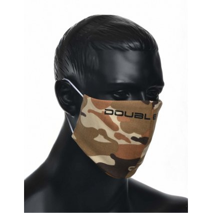 DOUBLE RED  MASK Soldier Black Logo