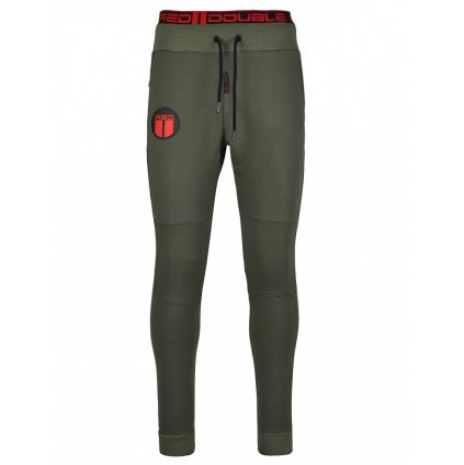 Tepláky  DOUBLE RED  Sweatpants Sport Is Your Gang Army Green
