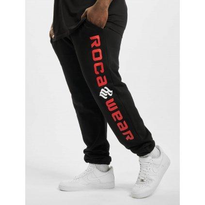 Pánske tepláky  Rocawear / Sweat Pant Big Basic Fleece in black