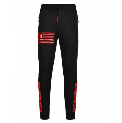Tepláky  DOUBLE RED  Sweatpants United Cartels Of Red UCR Black
