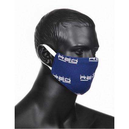 DOUBLE RED  Women's MASK Full Logo Blue
