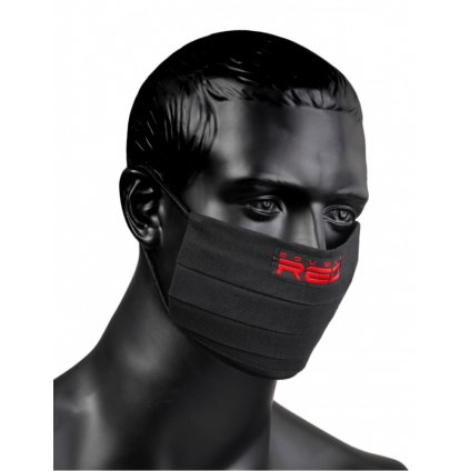 DOUBLE RED  MASK Black Special