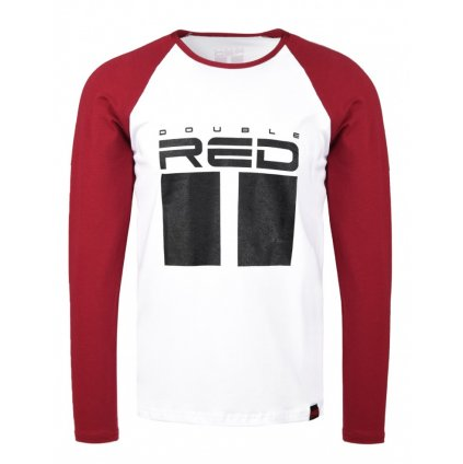 Tričko  DOUBLE RED  ALL LOGO long sleeve T-shirt