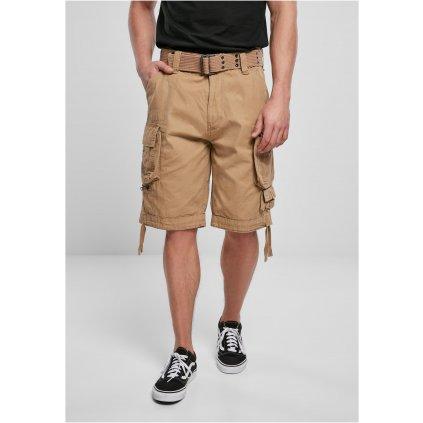 Krátke nohavice  Savage Vintage Cargo Shorts beige