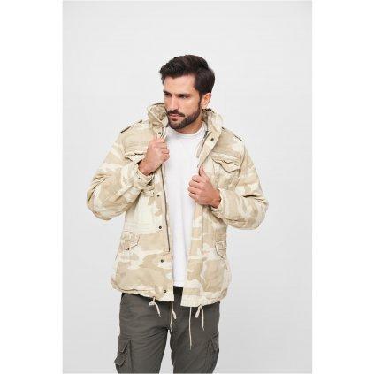 Bunda  M-65 Giant Jacket sandcamo