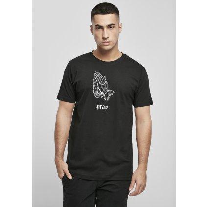 Pánske tričko  Dark Pray Tee black