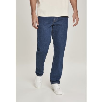 Tepláky  Relaxed Fit Jeans mid indigo