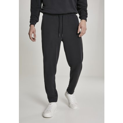 Tepláky  Modal Terry Tapered Sweatpants black