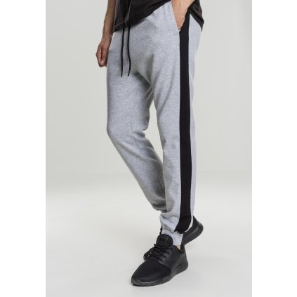 Tepláky  2-Tone InterlockTrack Pants grey/black