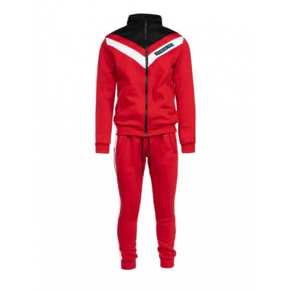 DOUBLE RED  Tracksuit RETRO 90'S Limited Collection Red/White