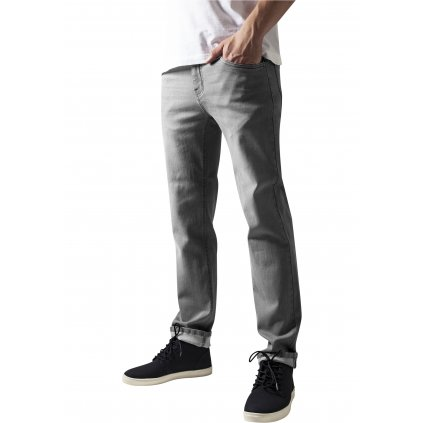 Tepláky  Stretch Denim Pants grey