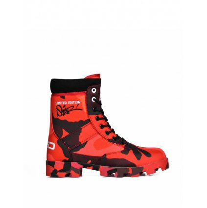 DOUBLE RED  Boots RED HELL SEPAR Edition