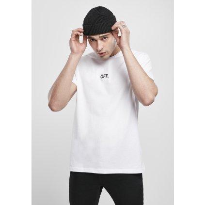 Pánske tričko  OFF EMB Tee white