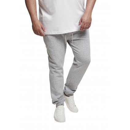 Tepláky  Organic Basic Sweatpants grey