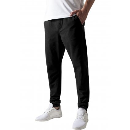 Tepláky  Washed Canvas Jogging Pants black