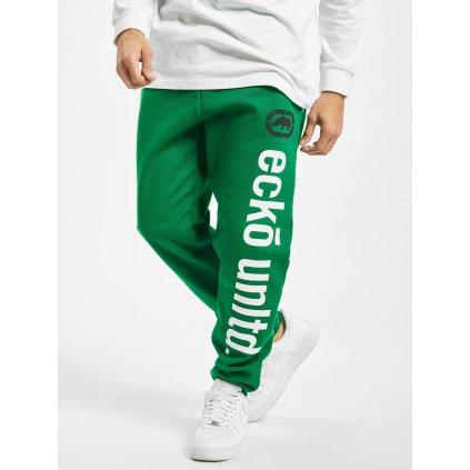 Pánske tepláky  Ecko Unltd. / Sweat Pant 2Face in green