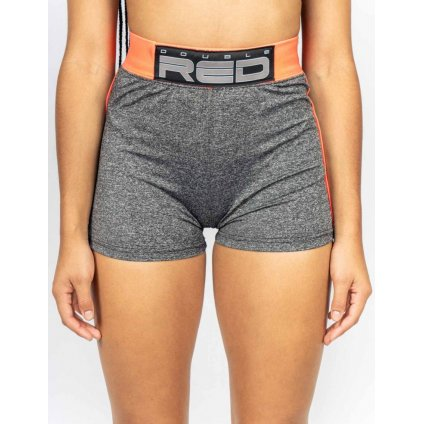 DOUBLE RED  Shorts SPORT IS YOUR GANG Function Sport Grey/Neon Orange