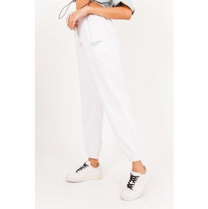 Pantalon Jogging logo blanc