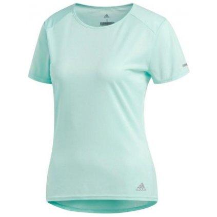 Dámske bežecké tričko adidas Run Short Sleeve Tee