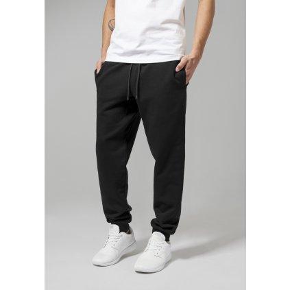 Tepláky  Basic Sweatpants black