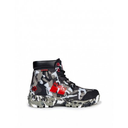 DOUBLE RED  BW EDITION RADIOACTIVE™ Tactical Boots